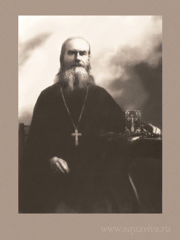 Протоиерей Иоанн Смолин, духовник матери Марии