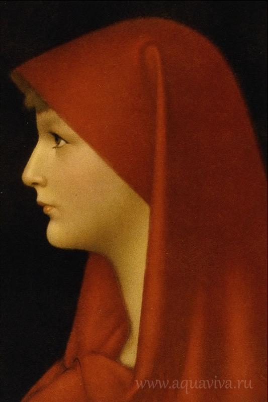 Жан-Жак Эннер написал идеализированный портрет патрицианки Фабиолы в 1885 году.