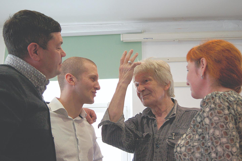 Михаил Боровков и его актеры