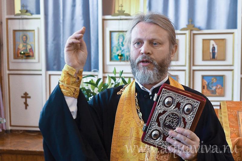 Иерей Димитрий Ерин, старший священник Воскресенского Новодевичьего женского монастыря, в прошлом — член клуба «Чайка»