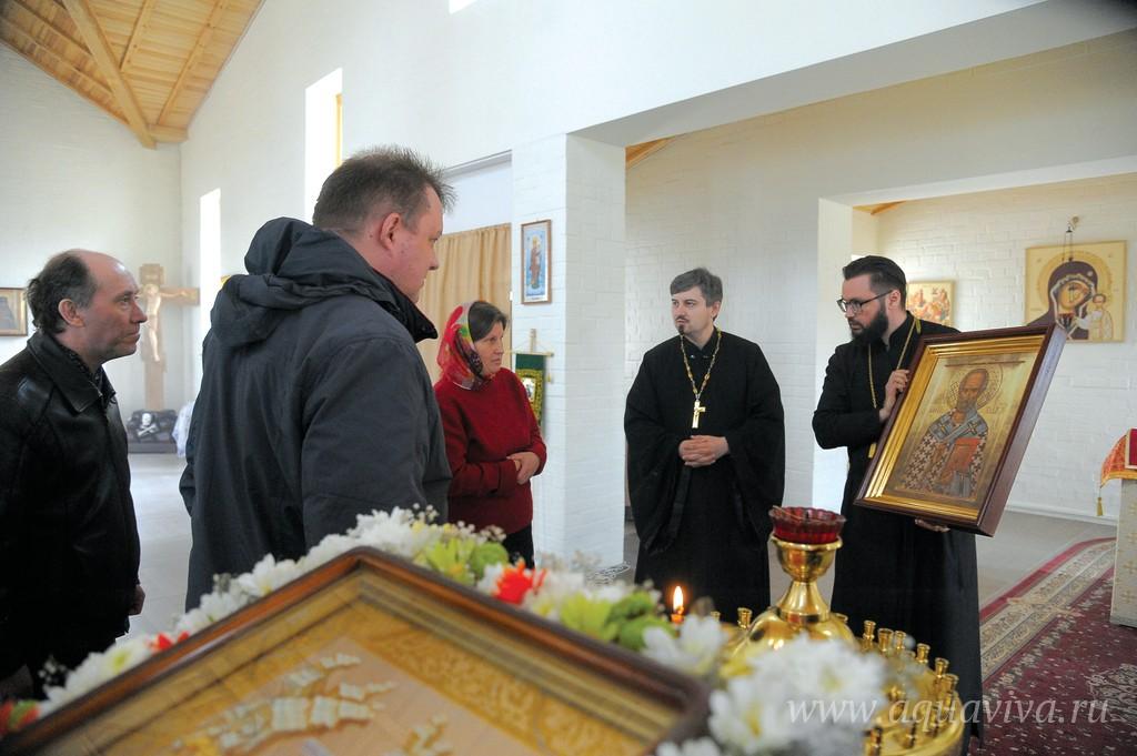 Протоиерей Вениамин Шапошников служит в храме Сошествия Святого Духа с февраля 2017 года