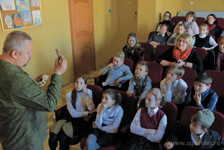 Фонд «Братский корпус святителя Николая Чудотворца» проводит в школе открытые уроки