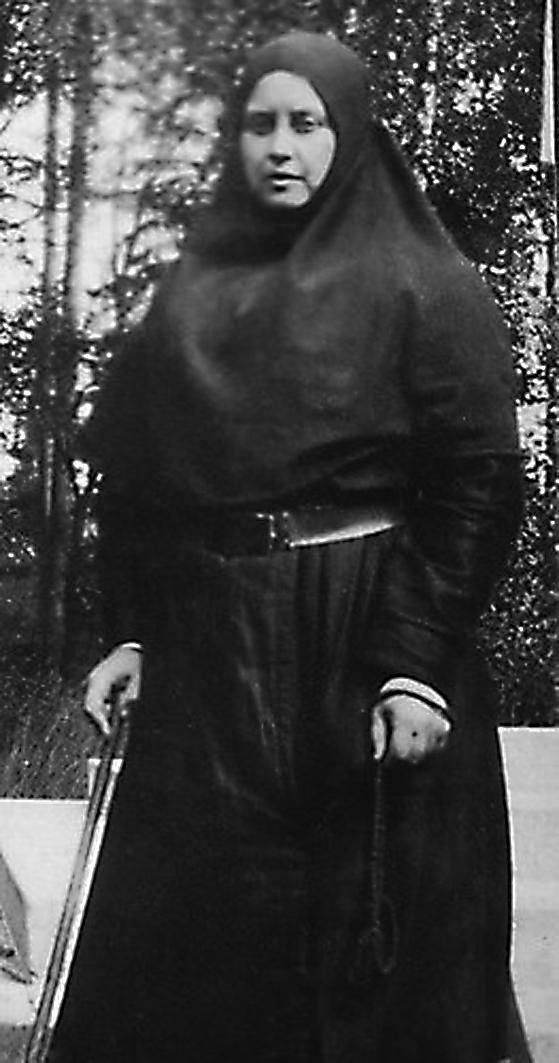 Анна Танеева (Вырубова), инокиня Мария. Фотоархив музея
