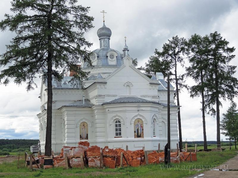 Иоанно-Богословский монастырь в селе Сура
