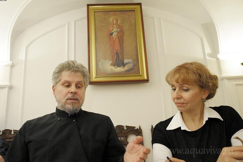 Протоиерей Михаил Петропавловский и матушка Татьяна