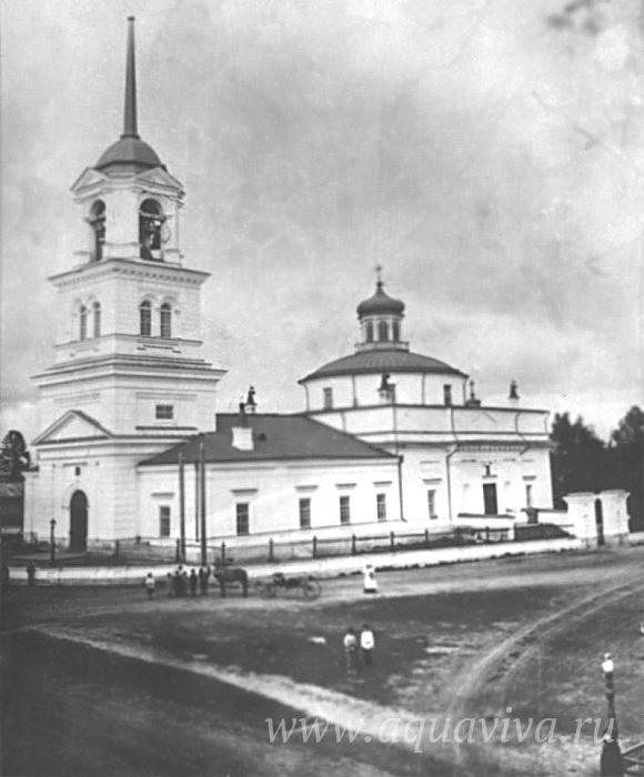 Храм Трех святителей — Василия Великого, Григория Богослова и Иоанна Златоустаго — в Нижней Туре
