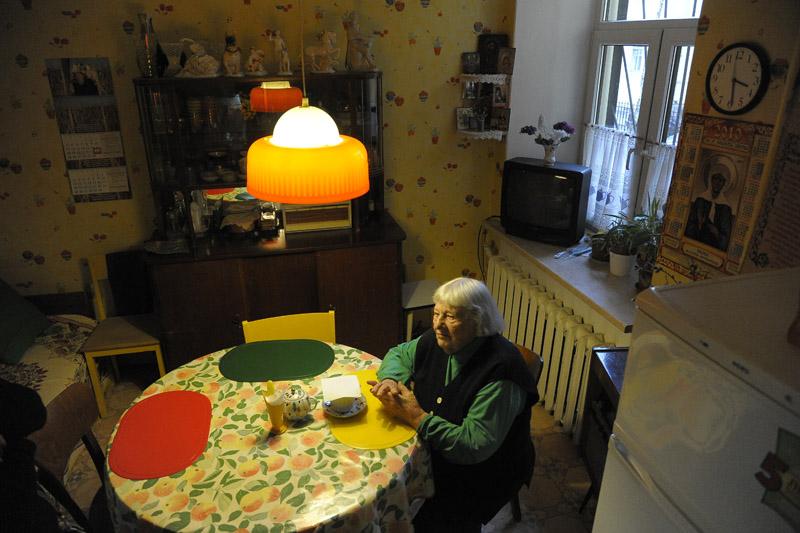 почившая Вера Ивановна