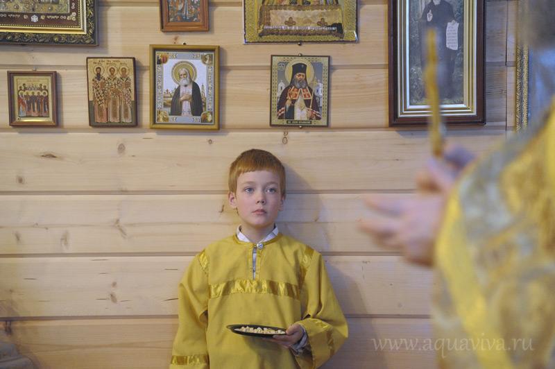 Дети в храме — полноценные участники богослужения. В будущем даже планируется возвести «детскую» мини-колокольню