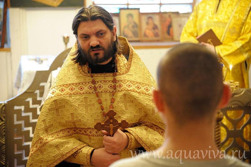Протоиерей Олег Скоморох, глава отдела по тюремному служению Санкт-Петербургской епархии