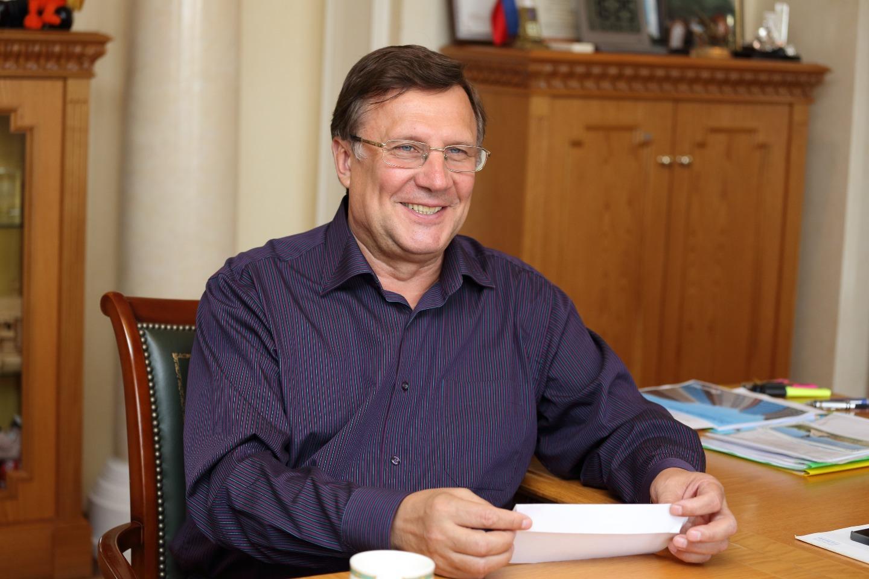 Меценат, глава фонда «Созидающий мир» Вячеслав Заренков