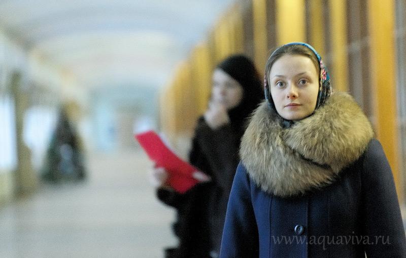 Ольга Кожичева, студентка химического факультета, считает, что «студенческий» храм в Петергофе очень нужен