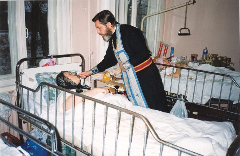 Протоиерей Георгий Артемьев был духовником Елизаветинского сестричества 12 лет