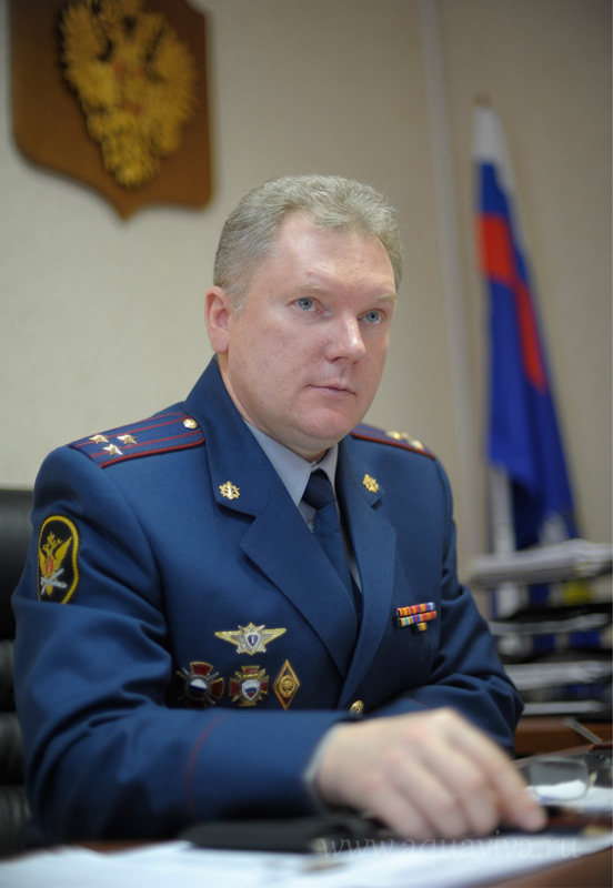 Директор института повышения квалификации работников федеральной службы исполнения наказаний полковник Сергей Назаров