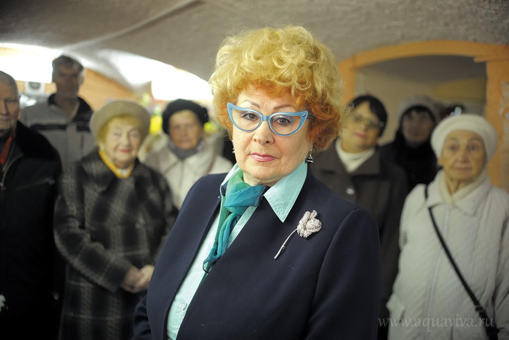 Галина Пучнина — один из инициаторов возрождения храма