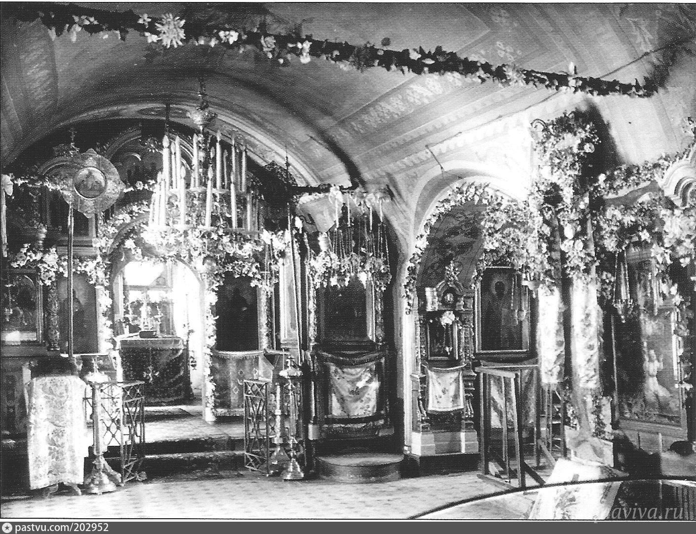 Никольский придел храма св. Николая в Клённиках. 1920 год