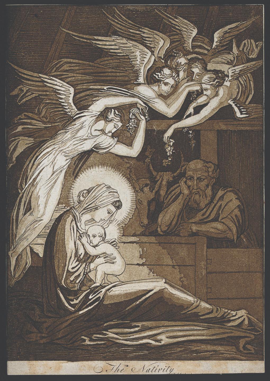 Томмазо Пироли. Рождество. 1796 год. Пример «женоцентричного» христианского изображения.