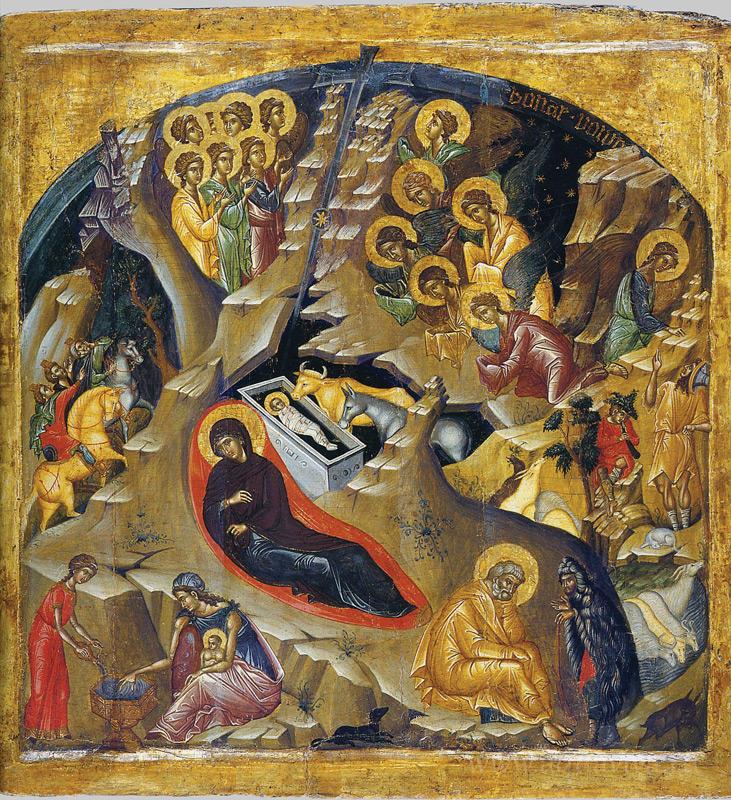 Рождество Христово. Византия. XV века