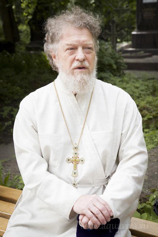 Протоиерей Виктор Московский почти тридцать лет несет послушание настоятеля