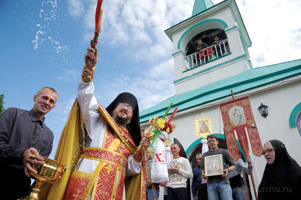 Иеромонах Никифор (Олухов) живет в скиту уже три года