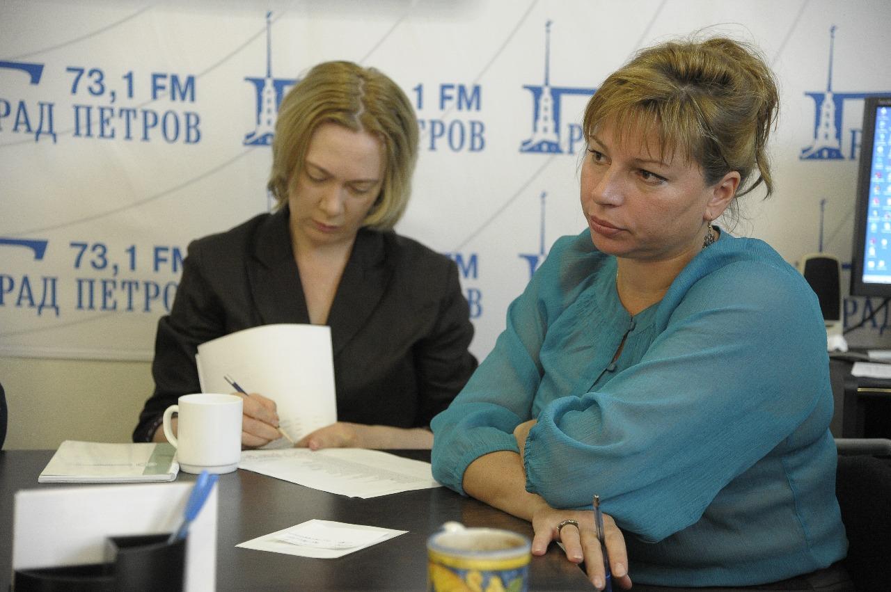 Марина Лобанова (слева) и Елена Мазуренко