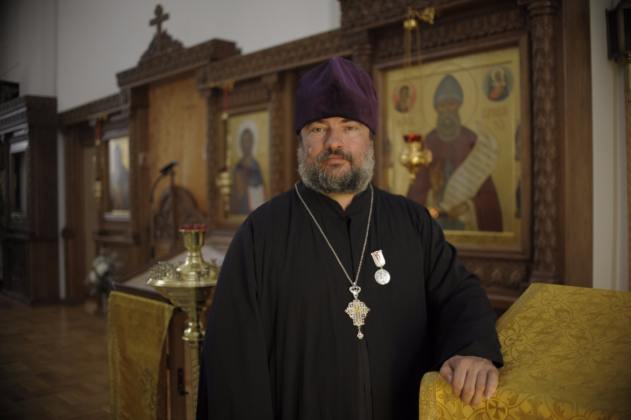 Настоятель храма протоиерей Валерий Клименков