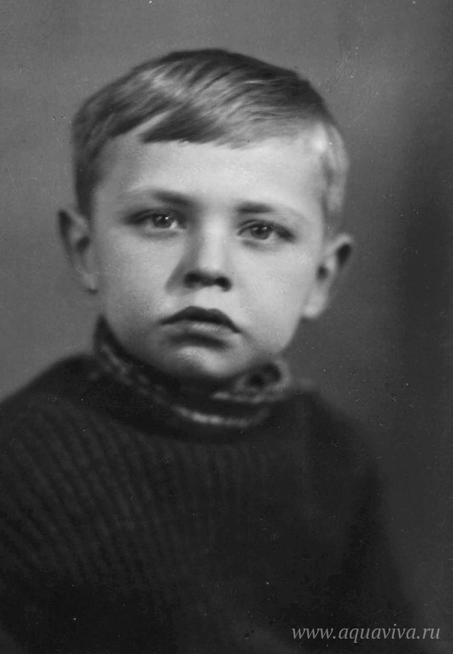 Борис Алмазов в 1950 году
