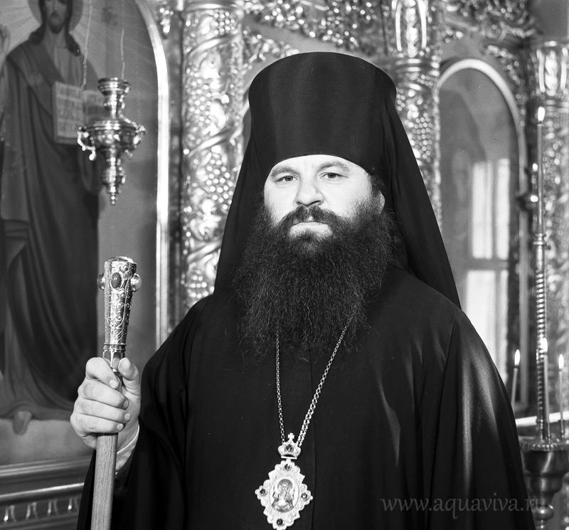 Епископ Саранский и Мордовский Варсонофий. Иоанно-Богословский кафедральный собор.