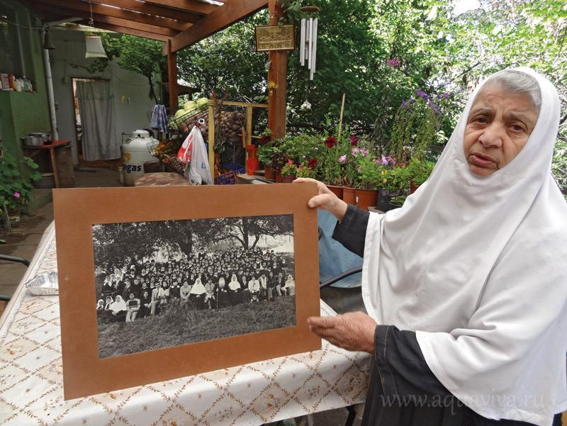 Матушка Иулиания в возрасте 86 лет заведует детским приютом под Сантьяго (Чили)