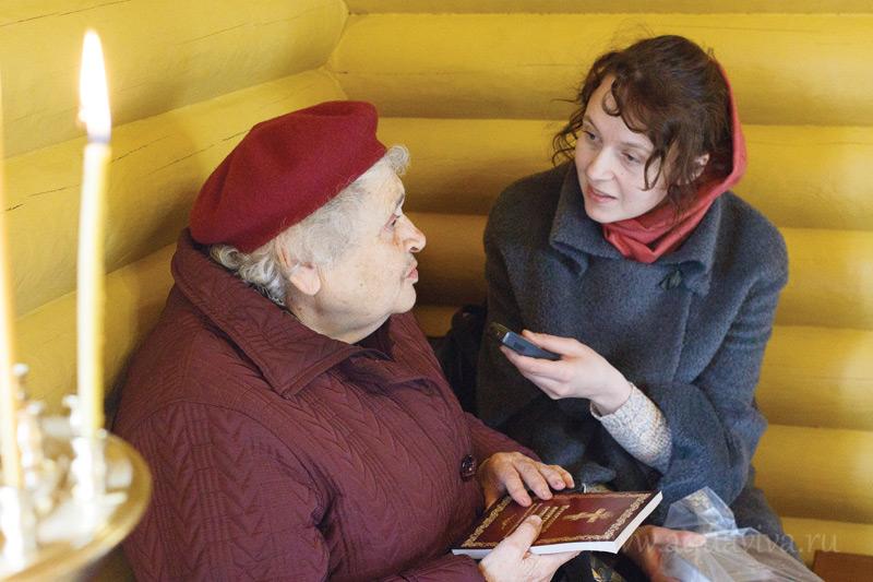 Прихожанка Людмила Семеновна Данилевская вспоминает о связях своей семьи с другом святителя