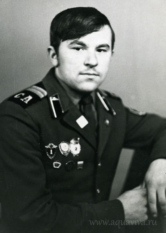Солдат срочной службы Анатолий Судаков (будущий владыка Варсонофий), 1974 год